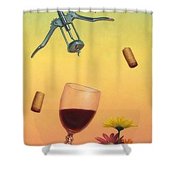 Body And Soul Shower Curtain by James W Johnson