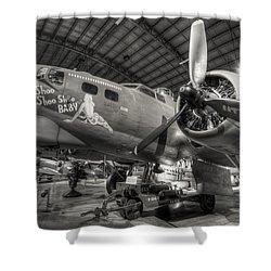 Boeing B-17 Bomber Shower Curtain