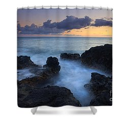 Boiling Sea Shower Curtain by Mike  Dawson