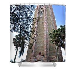 Bok Singing Tower Shower Curtain by Carol  Bradley