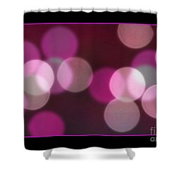 Shower Curtain featuring the photograph Bokeh Dots by Chris Anderson