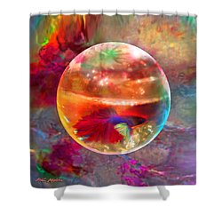 Bol De Monet' Shower Curtain