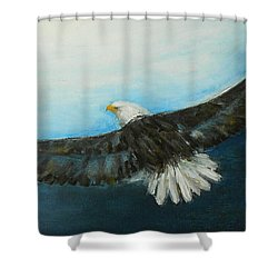 Bold And Beautiful Shower Curtain by Jane See
