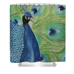 Boldly Beautiful Shower Curtain by Patricia Olson