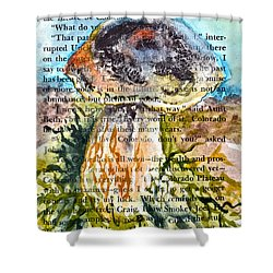 Boletus Edulis Close Up Shower Curtain by Beverley Harper Tinsley