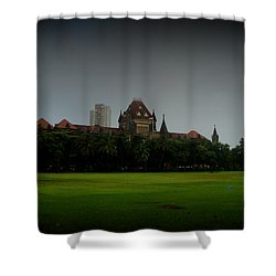 Shower Curtain featuring the photograph Bombay High Court by Salman Ravish