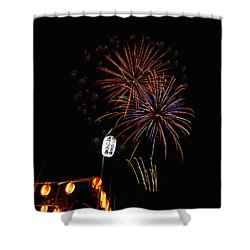 Bon Adori Glow Shower Curtain by John Swartz