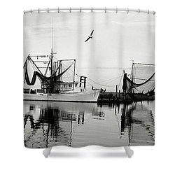 Bon Temps Shower Curtain by Scott Pellegrin