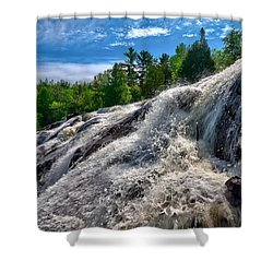 Bond Falls   Shower Curtain