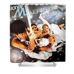 Boney M Night Flight To Venus Shower Curtain