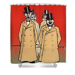 Bonne Cafetiere Shower Curtain by Gianfranco Weiss