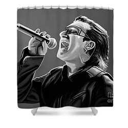 Bono U2 Shower Curtain
