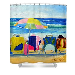 Book Club Shower Curtain