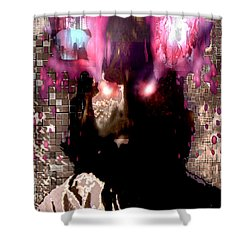 Book Of Joel Shower Curtain by Seth Weaver