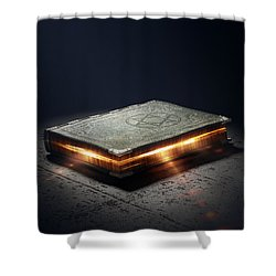 Book With Magic Powers Shower Curtain