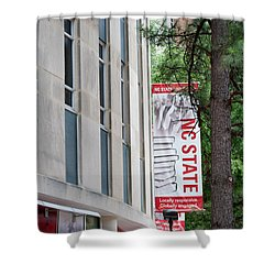 Bookstore Banner - Nc State Shower Curtain