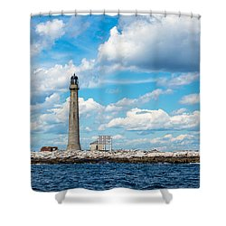 Boon Island Light Station Shower Curtain