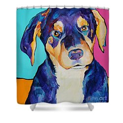 Boone Shower Curtain by Pat Saunders-White