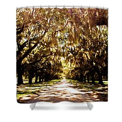 Shower Curtain featuring the photograph Boone Plantation by Bill Howard