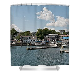 Boothbay Harbor 1242 Shower Curtain