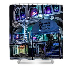Boozie's  Shower Curtain by Ray Congrove
