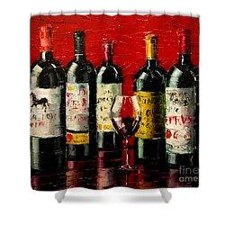 Bordeaux Collection Shower Curtain
