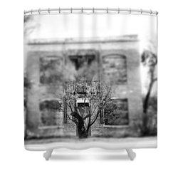 Bordello Shower Curtain by Justin Moranville