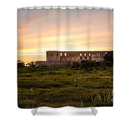 Borgholm Castle In Sweden Shower Curtain