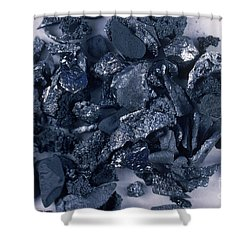 Boron Shower Curtain by Russell Lappa