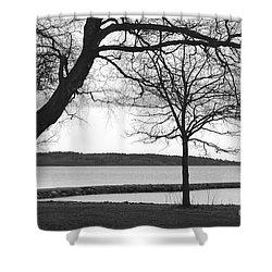 Shower Curtain featuring the photograph Borrestranda by Randi Grace Nilsberg