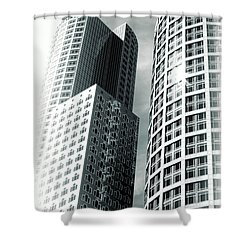 Boston Architecture Shower Curtain