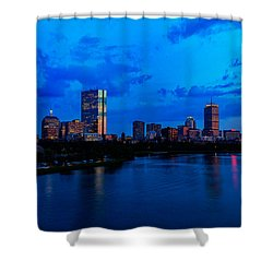 Boston Evening Shower Curtain by Rick Berk