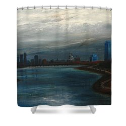 Boston Good Friday 1971 Shower Curtain