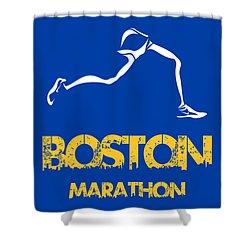 Boston Marathon2 Shower Curtain