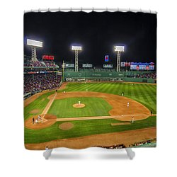 Boston Red Sox And New York Yankees At Fenway Park - Art Shower Curtain