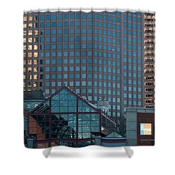 Boston Reflections Shower Curtain
