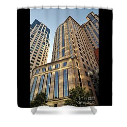 Boston Skyscrapers Shower Curtain