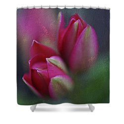 Shower Curtain featuring the photograph Botanic by Annie Snel