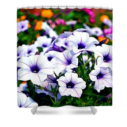 Shower Curtain featuring the photograph Botanical Medley by Deena Stoddard