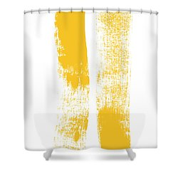 Both Sides Now Shower Curtain by Linda Woods