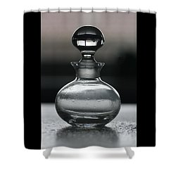 Bottle Shower Curtain by Joy Watson