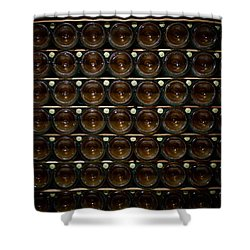 Bottles. Ca Del Bosco Winery. Franciacorta Docg Shower Curtain by Jouko Lehto