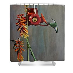 Bottoms Up Shower Curtain by AnnaJo Vahle