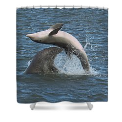 Bottom's Up Shower Curtain