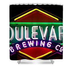 Boulevard Brewing Shower Curtain