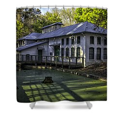 Boulware Springs Water Works Shower Curtain by Lynn Palmer