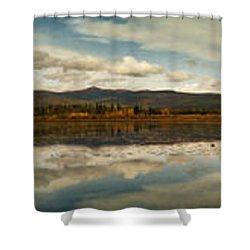 Boundless Shower Curtain by Priska Wettstein