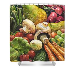 Bountiful Shower Curtain