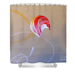 Shower Curtain featuring the painting Bouquet 4 by Nancy Kane Chapman