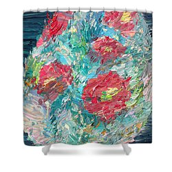 Bouquet Shower Curtain by Fabrizio Cassetta